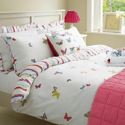 Stylish Laura Ashley Summer Meadow Single & Super King Duvet Cover 100% Cotton
