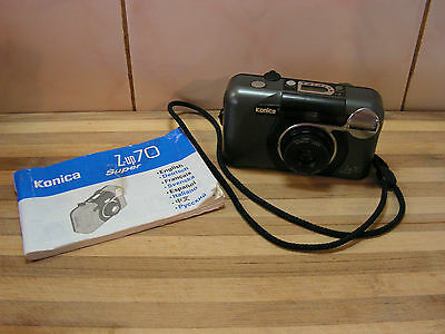 Konica Z-up 70 Super 35mm camera, with Instructions, VGC