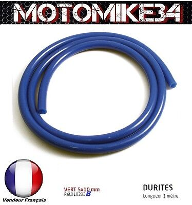 DURITE ESSENCE 5X10mm MOTO / SCOOTER / CROSS  NEUF / COULEUR BLEU  /