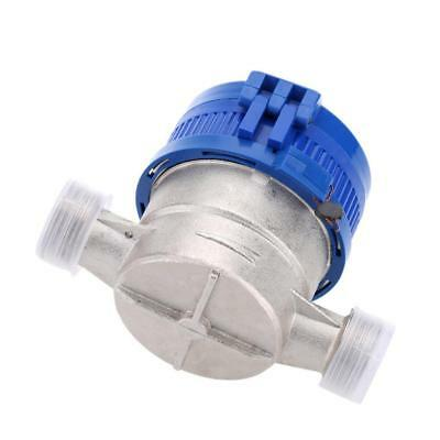 Single Flow Dry Cold Water Table 15mm Stainless Steel Home Use Water Meter