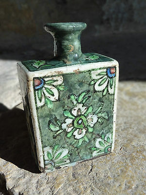 Schöne Iznick Vase Old vial or bottle Iznik
