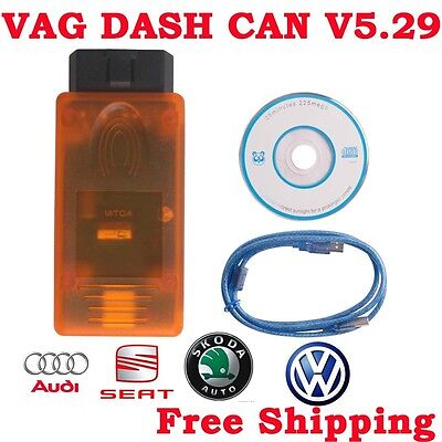 VAG DASH CAN V5.29 Recalibrate Or Correct The Oodmeter Read Out The Login SKC