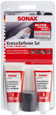 SONAX 03059410 KratzerEntfernerSet Lack Politur 50ml