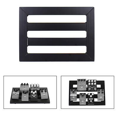 Brand New Effects Pedal Board Pedalboards Cases Electric Guitar FX Black New