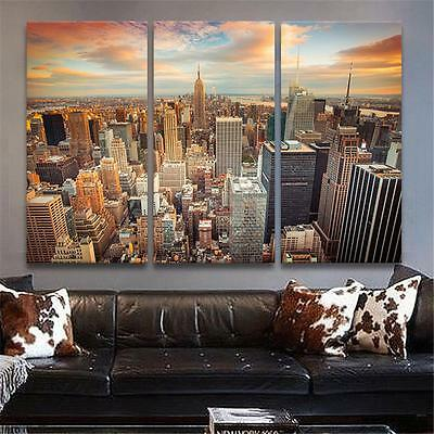 New York City Canvas Painting Picture Print Wall Art Decor Landscape No frame