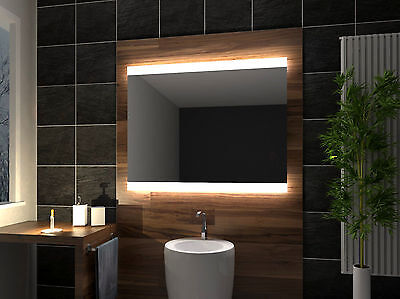 LED illuminated Bathroom Mirror Brazil 100x70 cm | Modern | Wall mounted