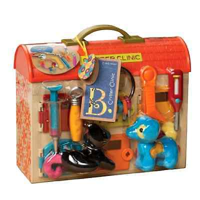 Clinic Toy Vet Play Set B Carry Case Full Clinic Accessories Interactive Toys