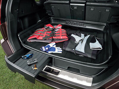 Nissan X-Trail T31 Genuine Car Storage Drawer Left Boot/Trunk H4906JH100 *******