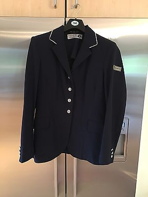 (14) Equiport Navy Technical Jacket with Crystal