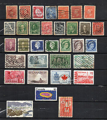 CANADA old vintage stamps bulk lot assorted collection 1927 Confederation