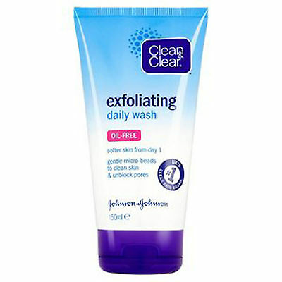 **Clean & Clean Exfoliating Daily Wash Oil Free 150ml NEW ** FACE OIL FREE