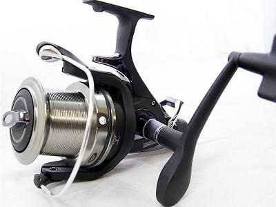 2x NGT Big Pit Baitrunner Carp Reel With Aluminium  Spare Spool Distance Casting