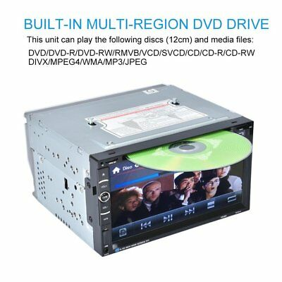 Android 7in 2Din 800 * 480 Car Stereo Radio DVD Player USB Bluetooth FM Upgrade