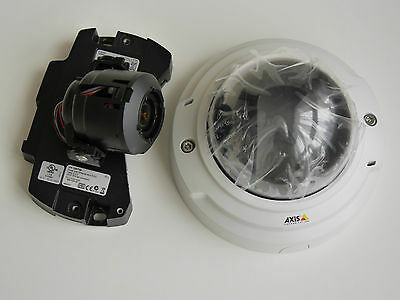 Axis P3353 Remote Zoom & Focus Dome Network IP Security Camera