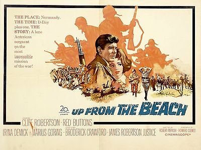 "Up from the Beach 16"" x 12"" Reproduction Movie Poster Photograph"