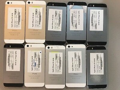 Lot of 10 No Power Apple iPhone 5S