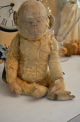 vintage mohair monkey chad  and skunk