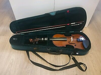 STENTOR STUDENT ST FULL SIZE 4/4 VIOLIN WITH BOW AND CASE  Free UK postage