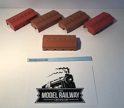 Vintage Triang Minic Ships - M840 - Warehouse X 5 - Rare Unboxed Diecast