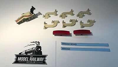 Vintage Triang Minic Ships - M842/m846 - Bridge And Bridge Roads Various Rare