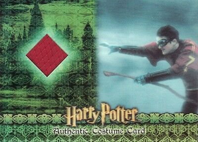 World of Harry Potter in 3D Harry's Quidditch Robe C9 Costume Card 250/250