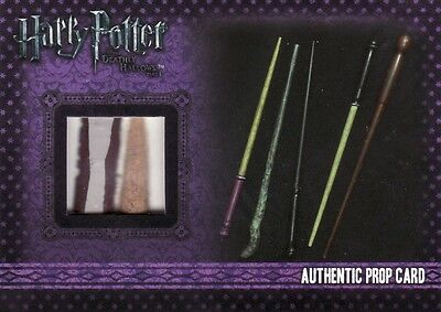 Harry Potter & the Deathly Hallows Part 1 Wands from Gregorovitch's P6 Prop Card