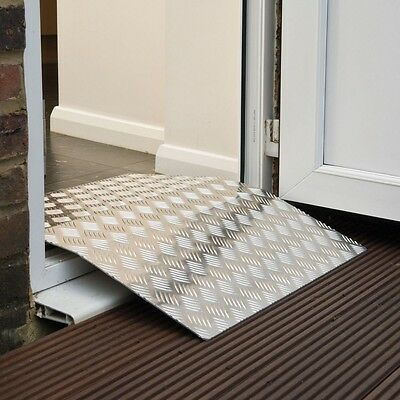 Aluminium threshold access ramp for wheelchairs / mobility scooters