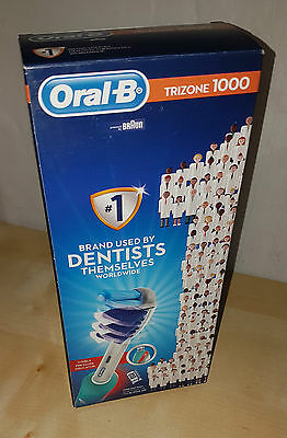 Braun Oral B Trizone 1000 Electric Toothbrush - Rechargeable - New