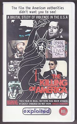 The Killing of America - 1981 - UNCUT 2000 VHS reissue