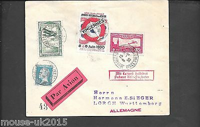 France 1930 Air Cover With Label