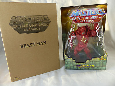 Motu Masters of the Universe Classics - Red Beast Man - MOSC