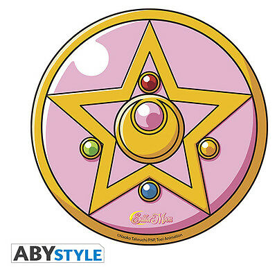 Sailor Moon Brooch Mousepad IT IMPORT ABYSTYLE