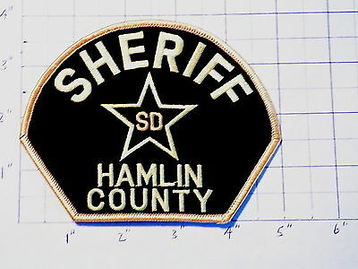 Hamlin County (SD) Sheriff's Office Patch   ***NEW***  ~SEE NOTE in Description~