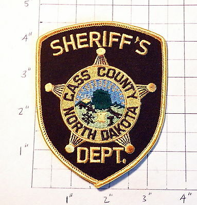 Cass County (Fargo,ND) Sheriff's Department Patch                 ***NEW***
