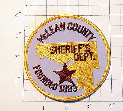 McLean County (Washburn,ND) Sheriff's Department Patch              ***NEW***