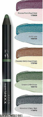 AVON MATITA Ombretto SUPERSHOCK DOPPIA Glimmerstick Eyeshadow DISCONTINUED