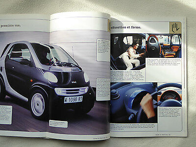 SMART CAR 1998/99 Brochure - French language version