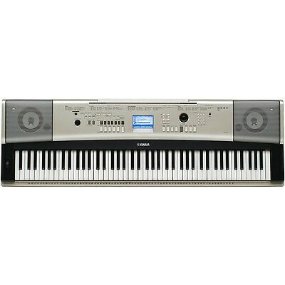 Yamaha YPG-535 88 Key Piano-Style Portable Keyboard, Stand, Sustain Pedal, USB