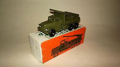 Rare NEW Original Vintage Russian Soviet USSR WWII rocket launcher truck toy