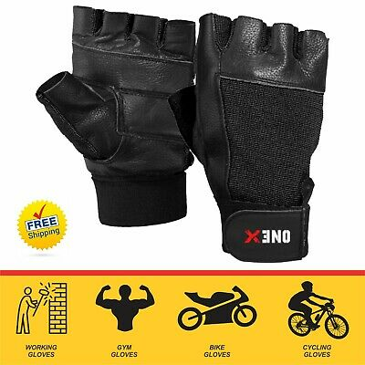Onex  Weight Lifting Body Building Gloves Gym ProTraining Gel Fitness Gloves