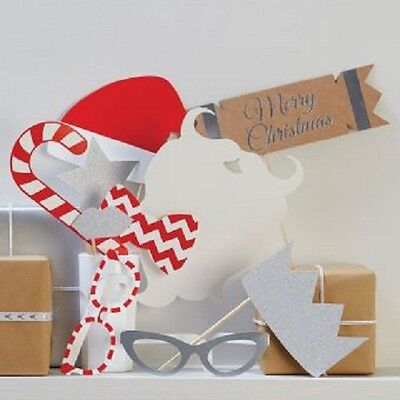 Christmas photo props 10 props - Free Postage
