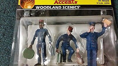 All Aboard, Ready to Use G Scale Figures from Woodland Scenics, WDS2558