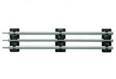 """Insulated Straight Track Section """"O"""" Gauge Lionel 6-12840"""
