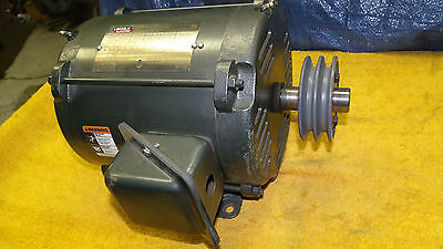 Lincoln 5 hp electric motor SD4P5T61 230/460 or 208/415 v. 3ph 1755 or 1420 rpm
