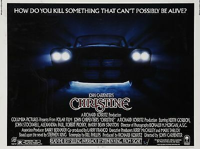 """Christine 16"""" x 12"""" Reproduction Movie Poster Photograph"""