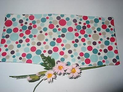 Lavender Filled Yoga Relaxation Eye Pillow Bubble Fabric Multicolor*free Cover*