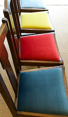 "Vintage Classic Oak Dining Chairs. ""Emergency"" Christmas Chairs"