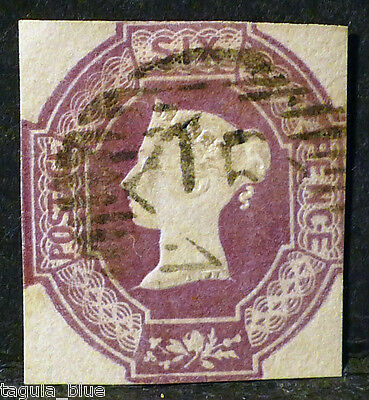 GB Stamps sg59 6d lilac - Fine used example