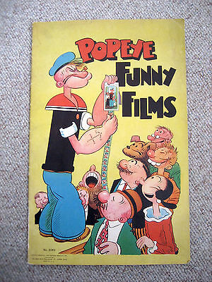 "VERY RARE ""Popeye Funny Films"" Book / Dated 1934"