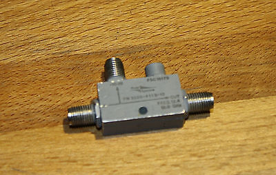 Omni Spectra directional coupler, SMA connectors,  2 – 18 GHz